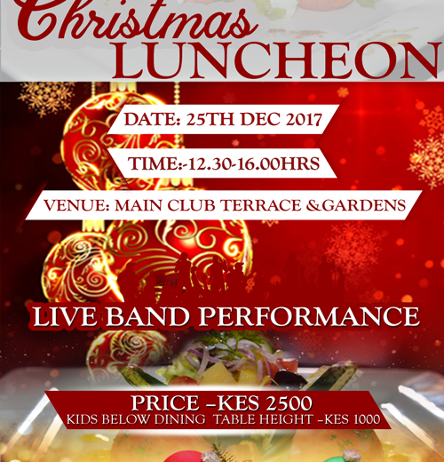 nairobi club christmas luncheon the nairobi club